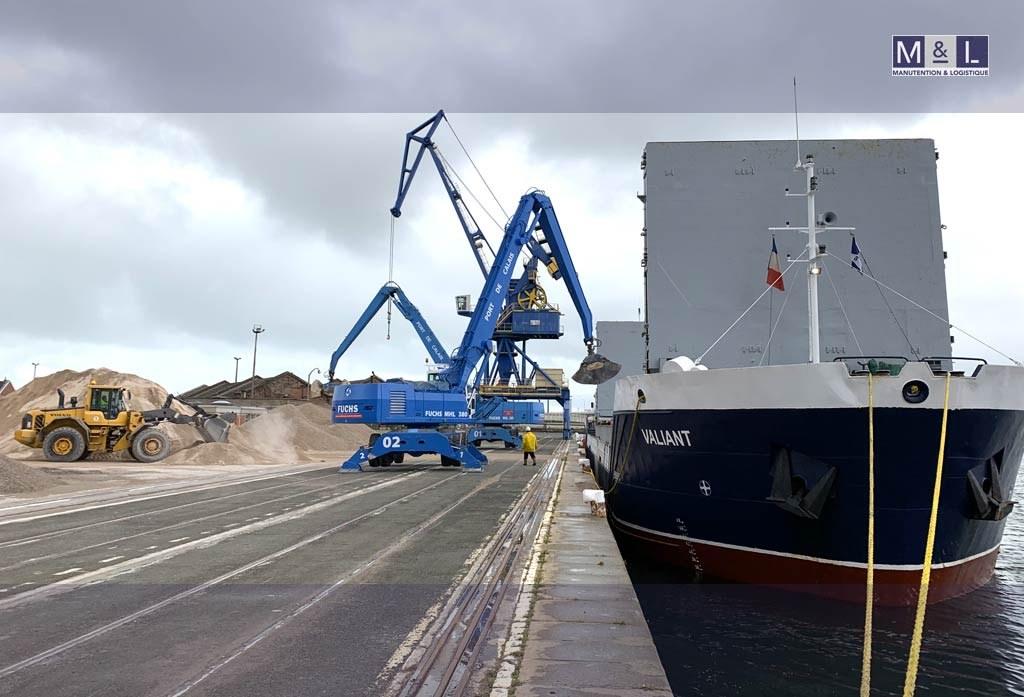 Le partenaire de vos opérations de manutention portuaire