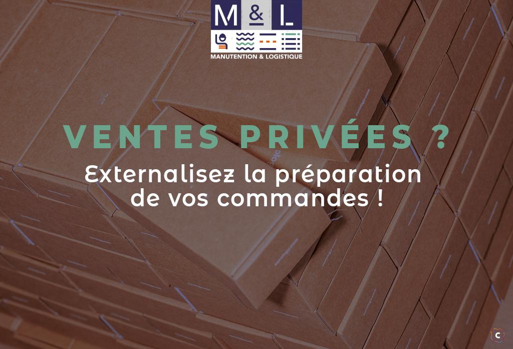 Ventes privées: externalisez la préparation des commandes